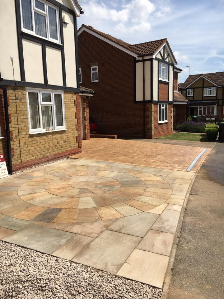 Driveway And Patio